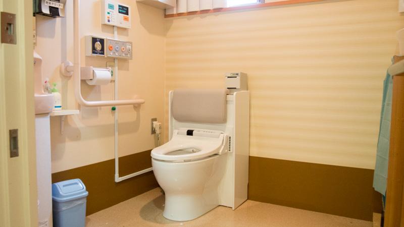 尿流量測定装置付きトイレ